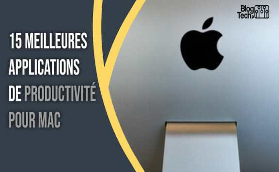 applications de productivité pour Mac