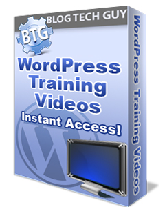 BTG WordPress Training Videos