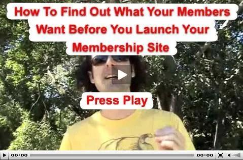 Membership video