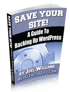 Save Your Site!
