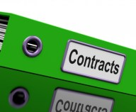 File With Contracts Word by Stuart Miles