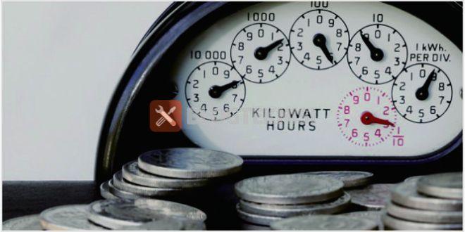 Tagihan biaya bulanan pemakaian listrik kita