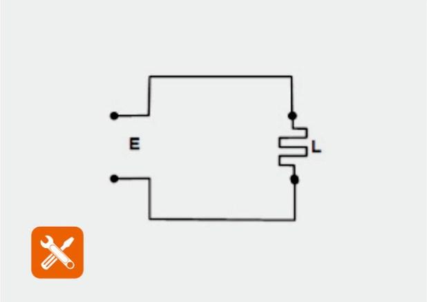 gambar rangkaian listrik setrika biasa