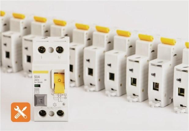 RCCB (Residual Current Circuit Breaker)