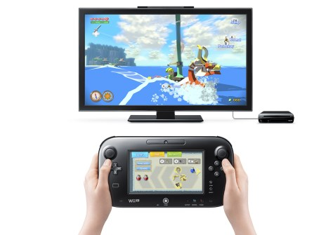 Zelda Wind Waker HD GamePad