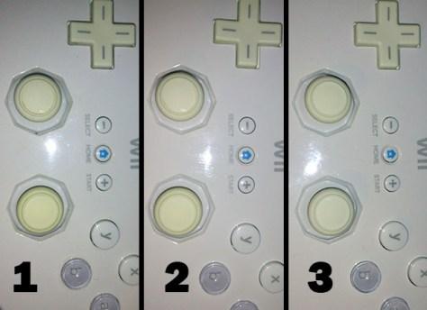1) Original     2) Agua Oxigenada     3) Cloro La diferencia es mucho mayor en la realidad.
