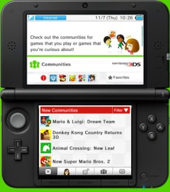 Miiverse Nintendo 3DS