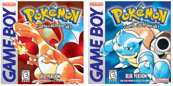 Pokemon Red Blue Green