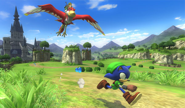 DLC de The Legend of Zelda para Sonic Lost World
