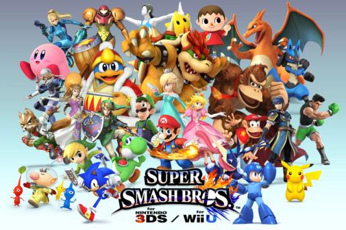 Super Smash Bros - 3 personajes más