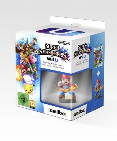 Pack Smash Bros + amiibo Mario