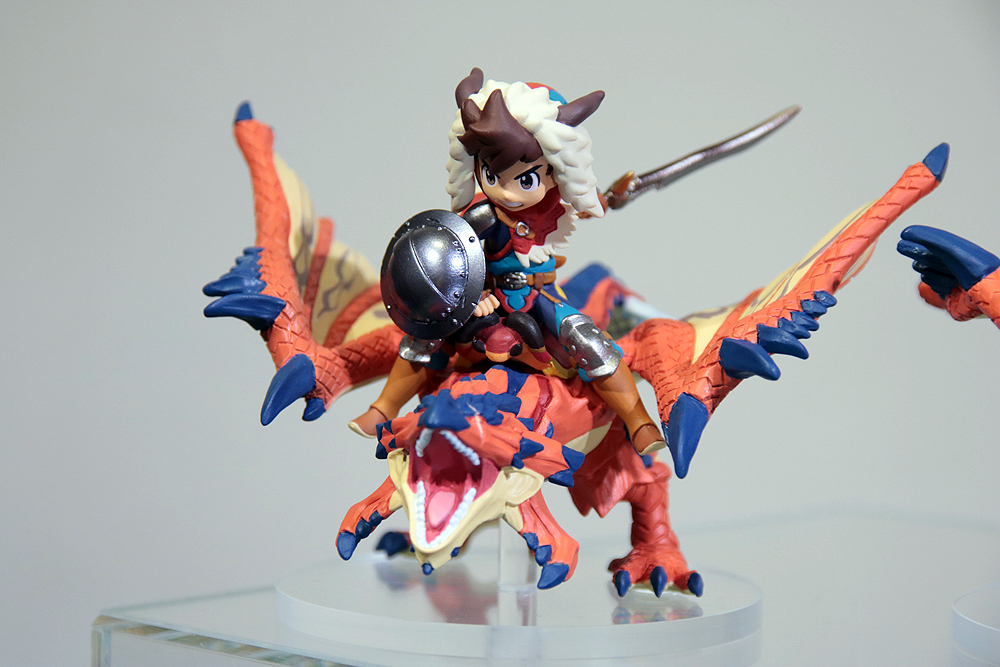 Amiibo Monster Hunter - One-Eyed Rathalos and Rider (Chico)