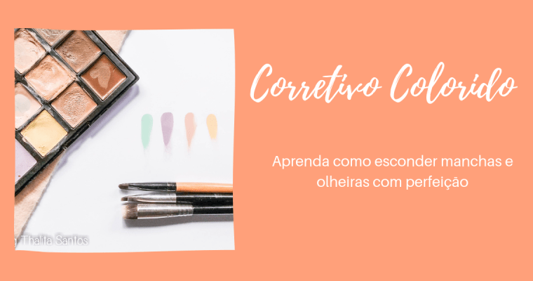 Corretivo colorido: como usar
