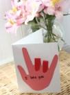 IloveYou Sign Language Card de BusyKidsHappyMom