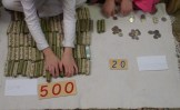 Ultimately, the kids collected $520---enough for a cow and a flock of chickens!