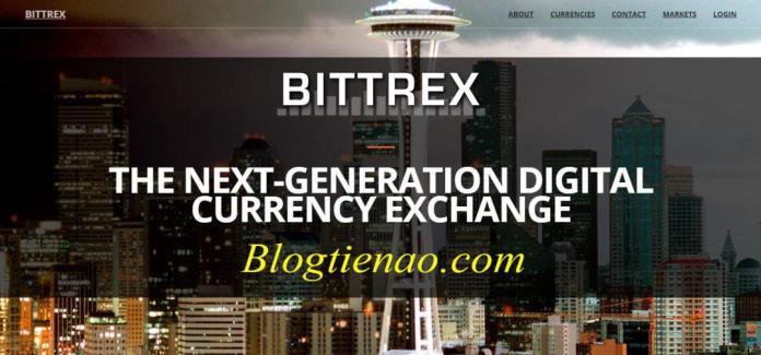 Sàn Bittrex một sàn mua bán ETH hàng đầu thế giới