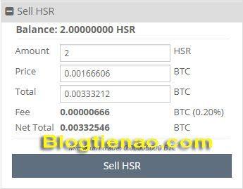 Cách bán Hshare trên Cryptopia. Ảnh 1