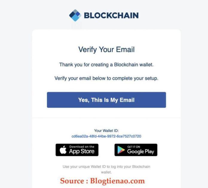Xác Nhận Đăng Ký Ví Blockchain