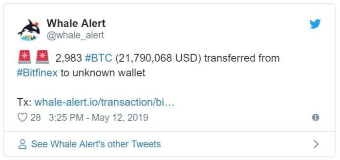 bitcoin cá voi