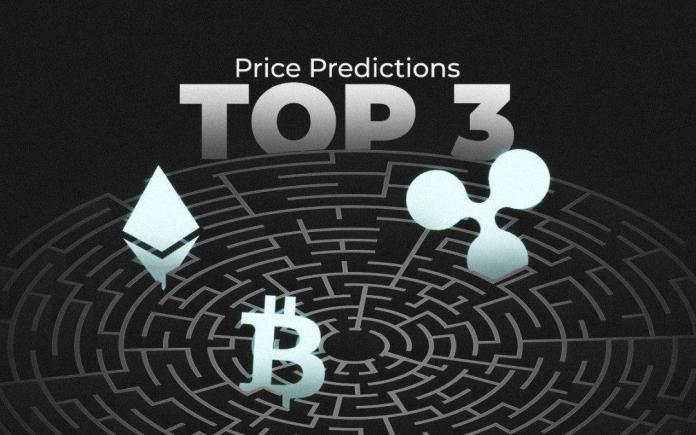 Phân tích giá ngày 25 tháng 5: Bitcoin, Ethereum và Ripple