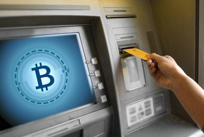 Máy atm bitcoin gặp lỗi