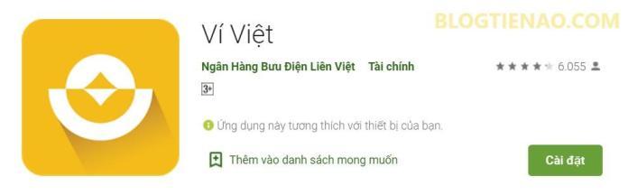 Ứng dụng Ví Việt