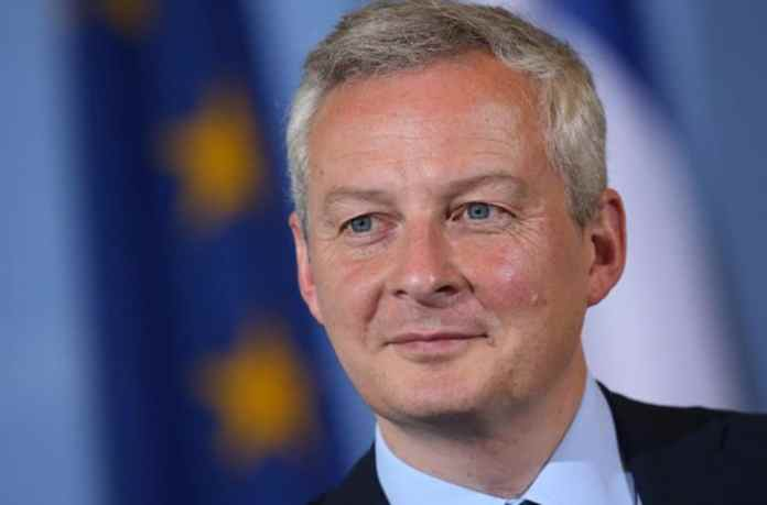 Bộ trưởng Kinh tế Pháp Bruno Le Maire