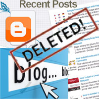 How to recover deleted blog post on Blogger - draft, published post