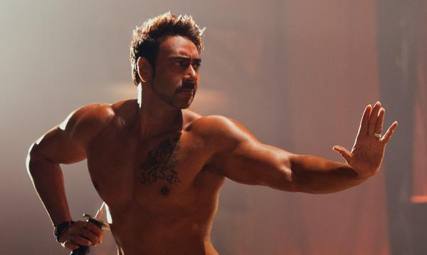 Ajay Devgn's look in Action Jackson