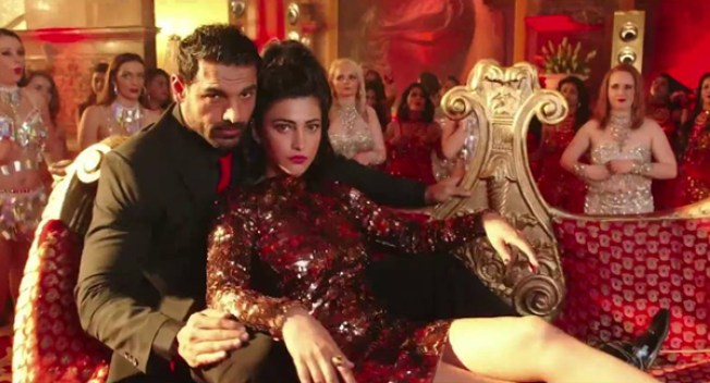 Shruti and John in Welcome Back Title Video Song
