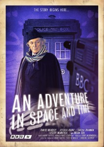 David Bradley as William Hartnell - An An Adventure in Time and Space