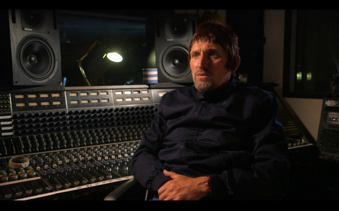 Brian Pern: 45 Years of Prog and Roll - Ep 2 - Luke Dunmore discuses producing Brian's album in the 90's Luke Dunmore (CHRISTOPHER ECCLESTON) - (C) BBC - Photographer: .