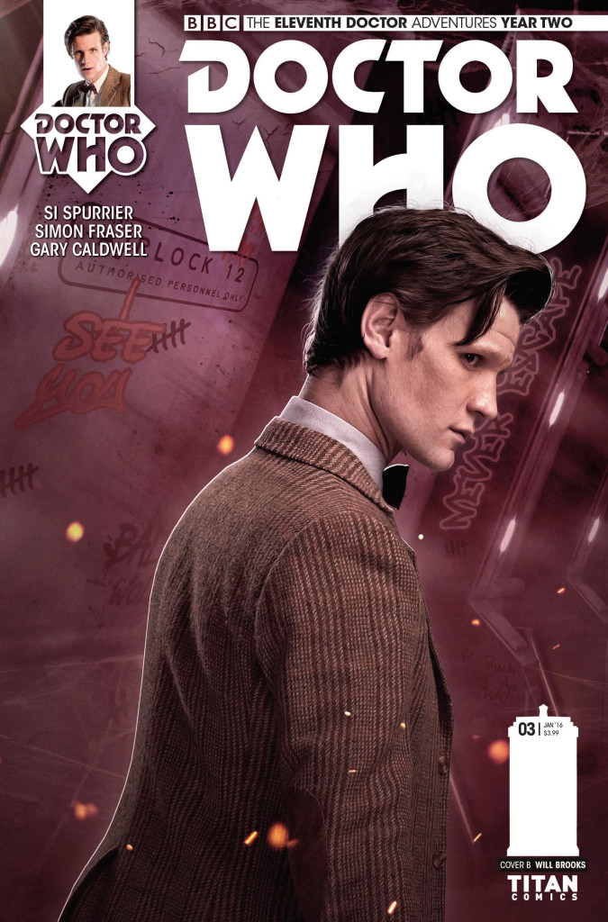 Titan Comics - Eleventh Doctor 2.3 - Cover B