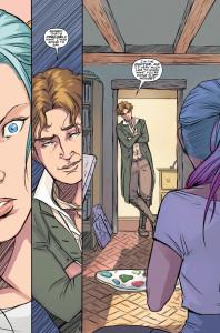 Titan Comics - Eighth Doctor #1 - Preview 2