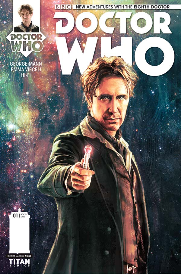 Titan Comics - Eighth Doctor #1 - Cover A