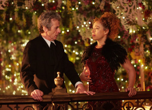 Doctor Who - TX: 25/12/2015 - Episode: n/a (No. n/a) - Picture Shows: Doctor Who (PETER CAPALDI), River Song (ALEX KINGSTON) - (C) BBC - Photographer: Simon Ridgway