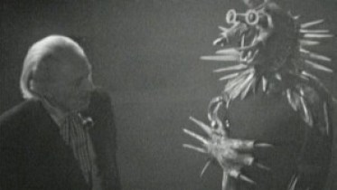 The Doctor (William Hartnell) and Koquillion - Doctor Who - Desperate Measures (c) BBC