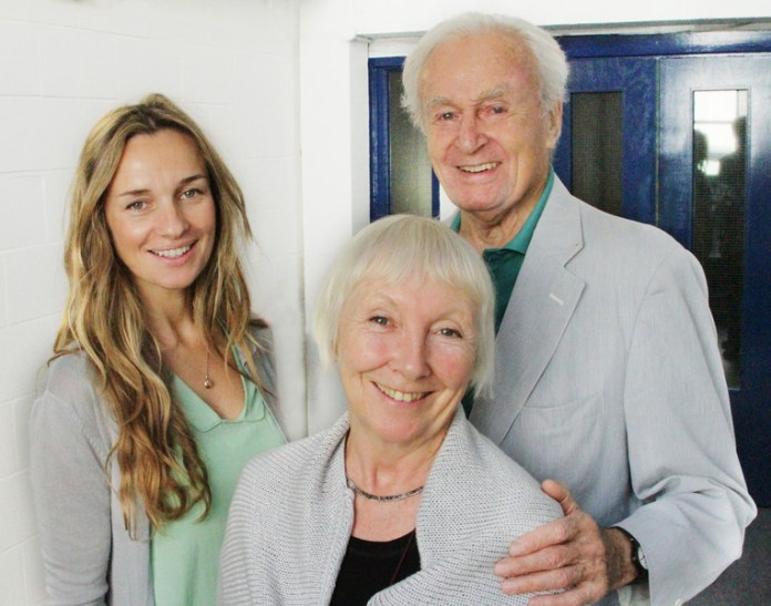 Jemma Powell, Maureen O'Brien and William Russell record the third series of The Early Adventures