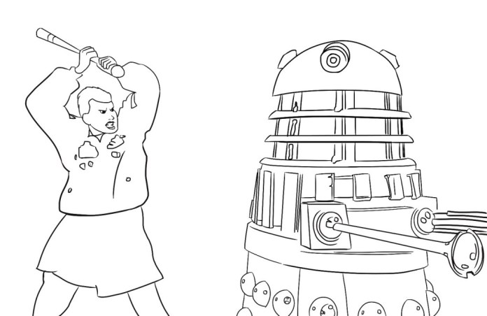 Ace vs Dalek