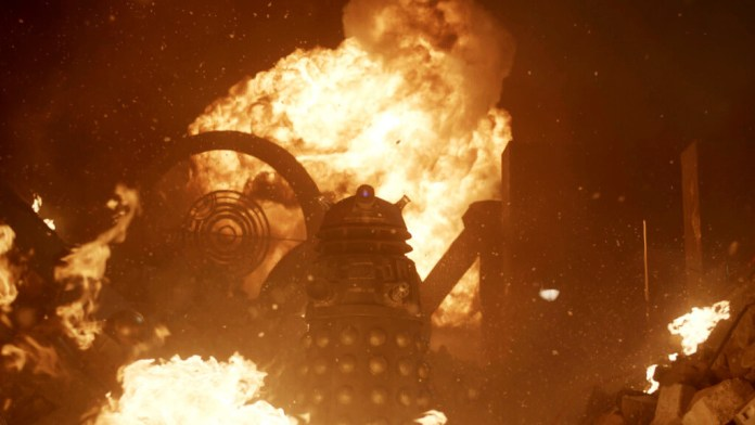 Doctor Who - 50th Anniversary Special - Picture Shows: Dalek - (C) BBC - Photographer: Screen Grab