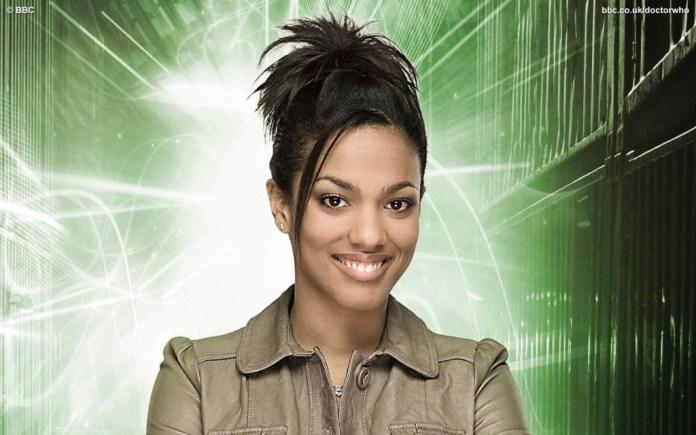Freema Agyeman as Doctor Who's Martha Jones (c) BBC