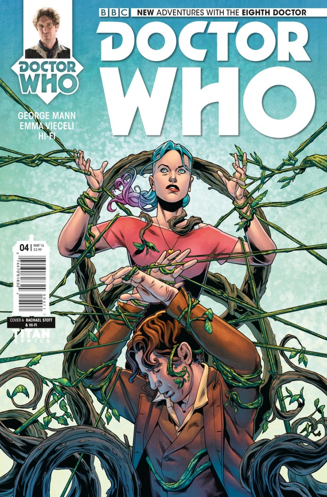 Doctor Who: The Eighth Doctor #4 - Cover A (c) Titan Comics