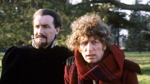 The Fourth Doctor and The Master - Logopolis - Doctor Who (c) BBC