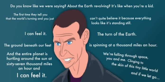 The Ninth Doctor by Lucy Crewe