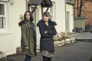The A Word - Alison Hughes (MORVEN CHRISTIE), Rebecca Hughes (MOLLY WRIGHT) - (C) Fifty Fathoms - Photographer: ROry Mulvey