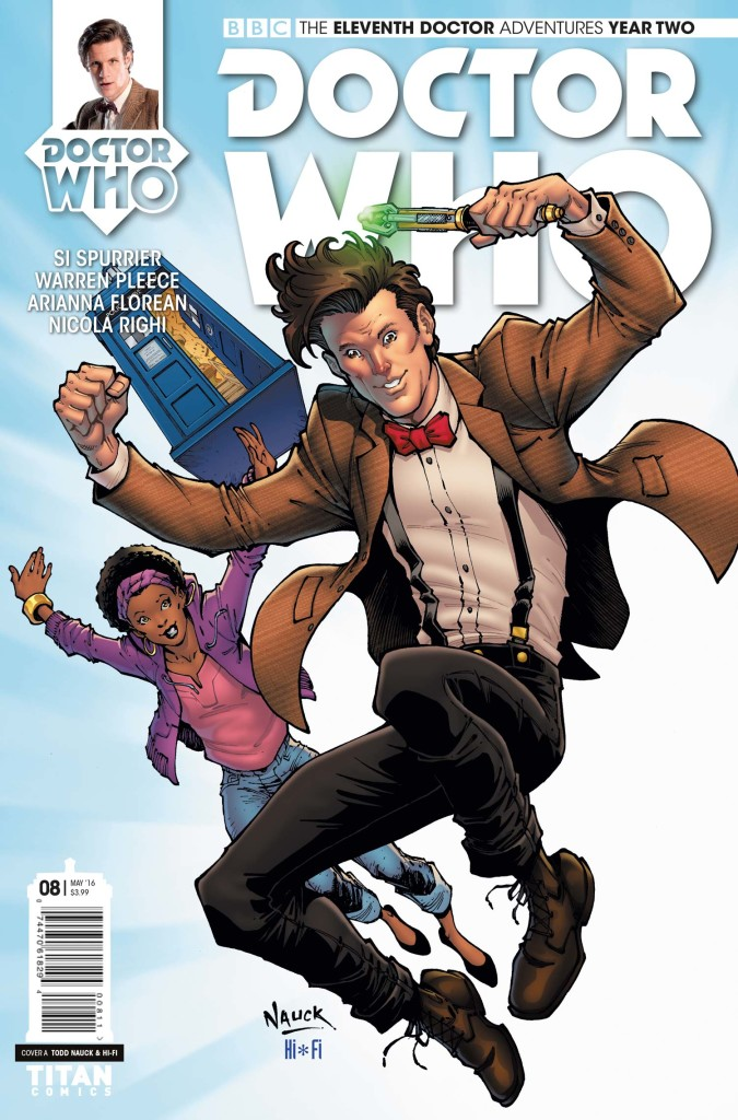 DOCTOR WHO: ELEVENTH DOCTOR #2.8 - Cover A