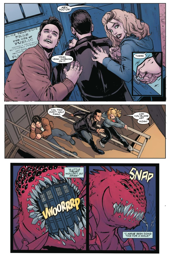 Doctor Who: Ninth Doctor #1 - Preview 2