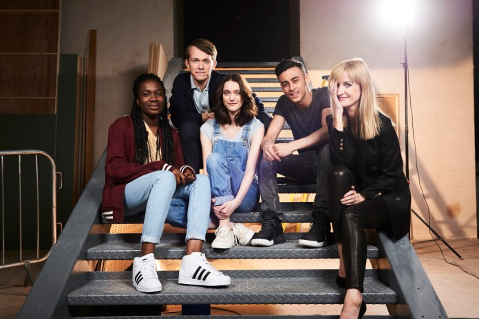 Class - Vivian Oparah, Greg Austin, Sophie Hopkins, Fady Elsayed, Katherine Kelly - (C) BBC - Photographer: Ray Burmiston