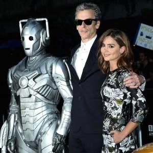 Peter Capaldi, Jenna Coleman - 'Doctor Who' TV series screening, New York, America - 14 Aug 2014 - Photo by Startraks Photo/REX