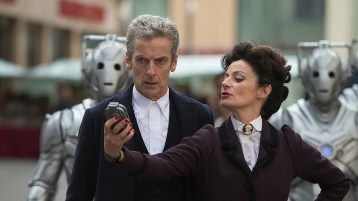 The Doctor (Peter Capaldi) and Missy/The Master (Michelle Gomez) - Doctor Who - Death in Heaven (c) BBC